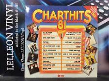 Chart Hits 81 Volume 1 Compilation LP Album Vinyl Record NE1142 Pop 80's
