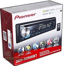 Pioneer DEH-X3900BT In Dash CD/USB/AUX Built-in Bluetooth / Pandora Car Stereo