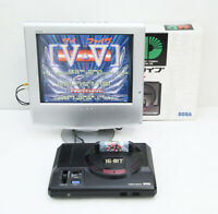 Mega Drive Genesis Sega Game Console Black Boxed HAA-2500 Working