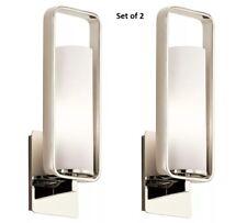 Kichler Lighting (Set of 2) 43787PN City Loft 1-Light Wall Sconce