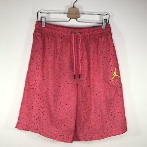 Nike Jordan Poolside Shorts Swim Trunks CI9133-639 Hyper Pink Men's Large L
