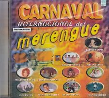 Elvis Crespo,Grupo Mania,Carnaval Internacional Del Merengue CD New Sealed