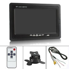 US- 7'' TFT LCD Color HD 800*480 2-CH DVD VCR Car Rearview Rear View Monitor