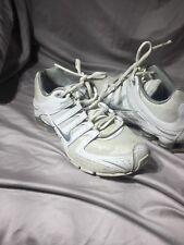 Nike Glitter Shox Women's Size 8 US 392868-105 White Silver 2010 Running Shoes