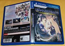 Case + Artwork (NO GAME!) Utawarerumono Mask of Deception  PlayStation Vita