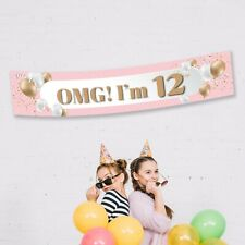 Personlised Birthday Party Banner Balloons 21st 30th Decorations Supplies Photo