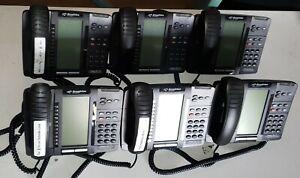 Lot of 6 Mitel 5320E IP Phones Broadview MIVOICE 50006782