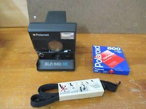 POLAROID SLR 680 SE CAMERA WITH FILM