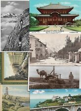Mixed World Postcard of 50 Lot Really Interesting! Africa Asia Europe USA 01.15