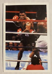 1987 A Question of Sport Mike Tyson UK *GREAT CONDITION* Well Centered!!!