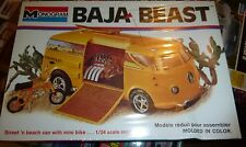 MONOGRAM BAJA BEAST 1/24 VW BUS CUSTOM MINI BIKE Model Car Mountain FS