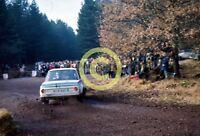 Photo Achim Warmbold Jean Todt BMW 2002 Rally Car 1973 Daily Mirror RAC Rally
