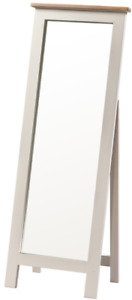 Painted Cheval Mirror