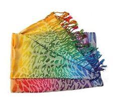 Rainbow Animal Pashmina Scarf