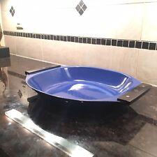 Catherineholm Holland Blue Enamel Paella Tray Dish Serving Platter SLG