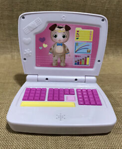 Disney Doc Mcstuffins ALL IN ONE BABY NURSERY LAPTOP COMPUTER Lights & Sound