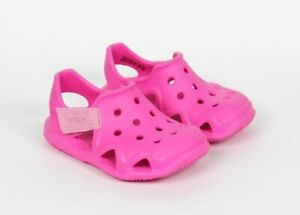 Crocs Pink Swiftwater Wave Sandals Water Shoes Baby Toddler Girls Size C6