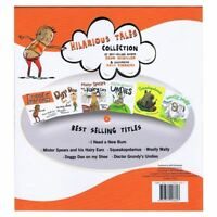 Hilarious Tales Collection 6 Books Sealed Case 'I Need A New Bum!  Best Seller '