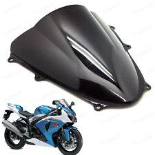 Black Double Bubble Windscreen Windshield Shield for Suzuki GXSR1000 2009-2016