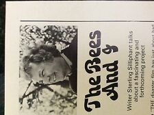 a1r ephemera 1970s article writer stirling silliphant and the swarm