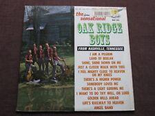 The Sensational OAK RIDGE BOYS from NASHVILLE, TN:  LP EX GUSTO STARDAY SLP 356