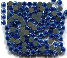 Rhinestones Crystal  AB BLUE  2mm 6ss Hot Fix  1gross