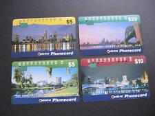 AUSTRALIA TELSTRA PHONECARD CITY SKYLINE SERIES 1996