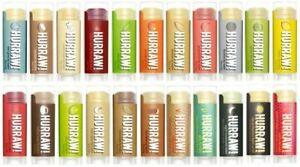 HURRAW! All Natural Lip Balms - Organic Raw Vegan Cruelty Free - FREE POST!