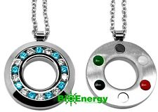 Germanium Powerful Quantum Scalar Energy Pendant Necklace Balance Chain Power