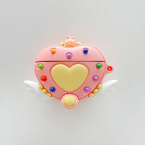 For AirPods Pro 2 1 Case 3D Magic Heart Protective Silicone Earphone Cover