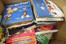 Lot of 141 Different 45rpm Vinyls w/ Picture Sleeves 0723ELDB
