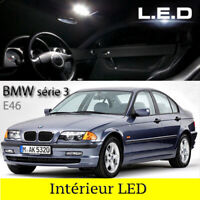 Kit 14 ampoules à LED Intérieur  habitacle Pour BMW E46 / 316 318 320 325 330