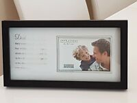 """New Impressions by Juliana Frame Dad is a hero 6"""" x 4"""" Photo Fathers Day gift  *"""