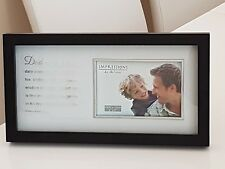 "New Impressions by Juliana Frame Dad is a hero 6"" x 4"" Photo Fathers Day gift  *"