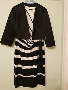 Ladies roman dress and jacket  size 20