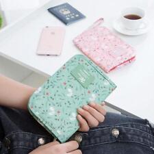 Travel Wallet Organizer Passport Credit Card Holder Bag Cash Purse P3
