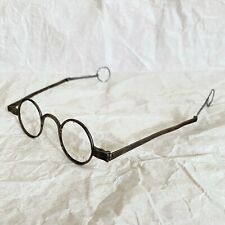 Antique Spectacles Antique Eyeglasses Steel  Folding Temples 18TH Century