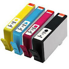 4x HP 564XL Reman Ink Cartridges for HP Photosmart 3070/5510/5520/6510/6520/7510