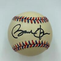 President Barack Obama Single Signed Baseball Signed While Senator 1996 JSA COA