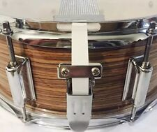 Snare Flair Drum Strap Percussion Vintage White USA Made SnareFlair Straps
