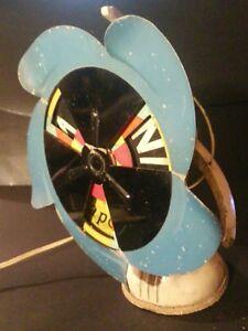 Antique Vintage Electric Fan 1950's Marelli for Martini rare! No restored .