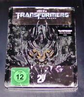 Transformers 2 La Rache Limitata steelbook Edizione blu ray Nuovo &confez.orig.
