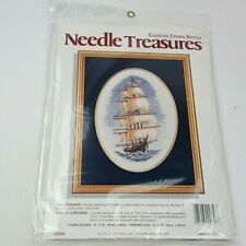 Vintage Needle Treasures The Voyager Counted Cross Stitch Kit  #02656 New