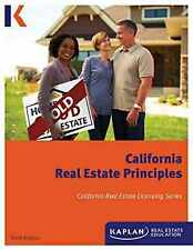Kaplan California Real Estate Principles, 10th Edition (Paperback) – A Compreh