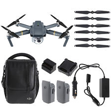DJI Mavic Pro Fly More Combo Quadcopter Drone & 4K Gimbal-Stabilized 12MP Camera
