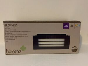 Blooma Browning Brick Light LED New Garden Mains , Steps , Outdoor , Indoor