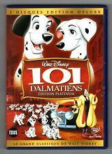 DVD WALT DISNEY ★ LES 101 DALMATIENS - EDITION DELUXE DOUBLE DVD ★ (ZONE 2)