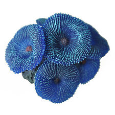 Aquarium plant artificial coral blue LW
