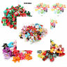Dog Cat Puppy Hair Bows With Rubber Bands Pet Headwear Grooming Accessories