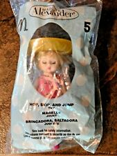 "2005 Madame Alexander HOP, SKIP, & JUMP 5"" Doll, Hopscotch Mat, McDonald's, NIP"